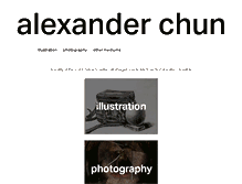 Tablet Preview of alexanderchun.info